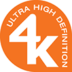 Ultra High Definition 4K icon