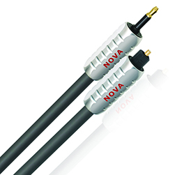 Nova high end audiophile Toslink Optical Digital Audio Cable, best, videophile, DAC